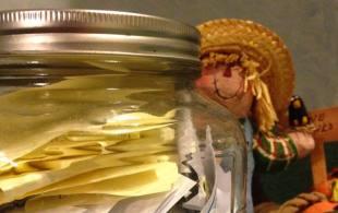 Gratitude Notebook-- Strangers Share Thankfulness - Gratitude Jar