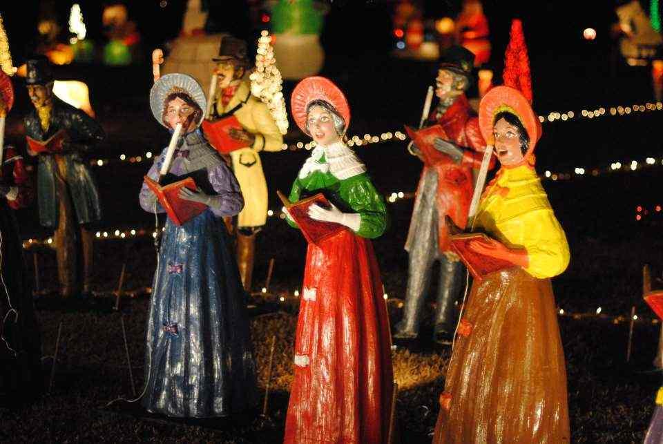 Happyland Christmas Lights - Raleigh - LocalWiki