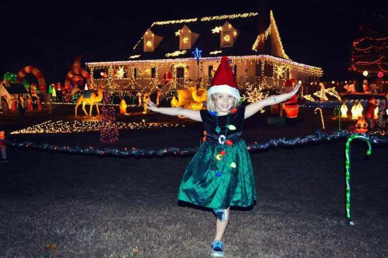 Historic Raleigh Christmas Lights Hit The National Screen