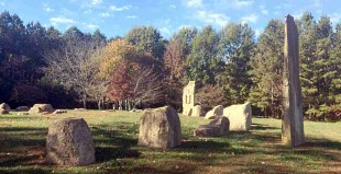 Stonehenge of North Carolina - Mystic Circle in Chapel Hill - featured